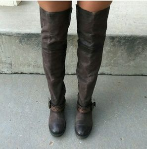 Steve Madden knee high comfy boots